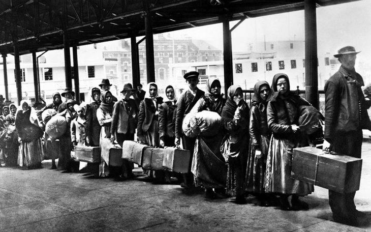 μεταναστες αμερικής 1900